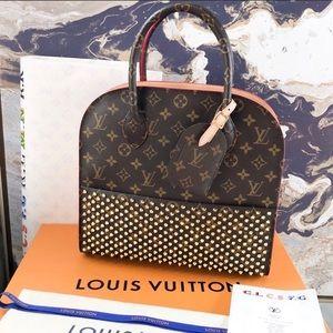 Louis Vuitton Louboutin Iconoclasts Monogram Tote
